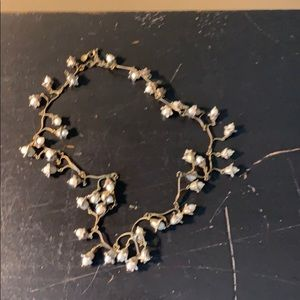 Fresh water pearls casted necklace. High end